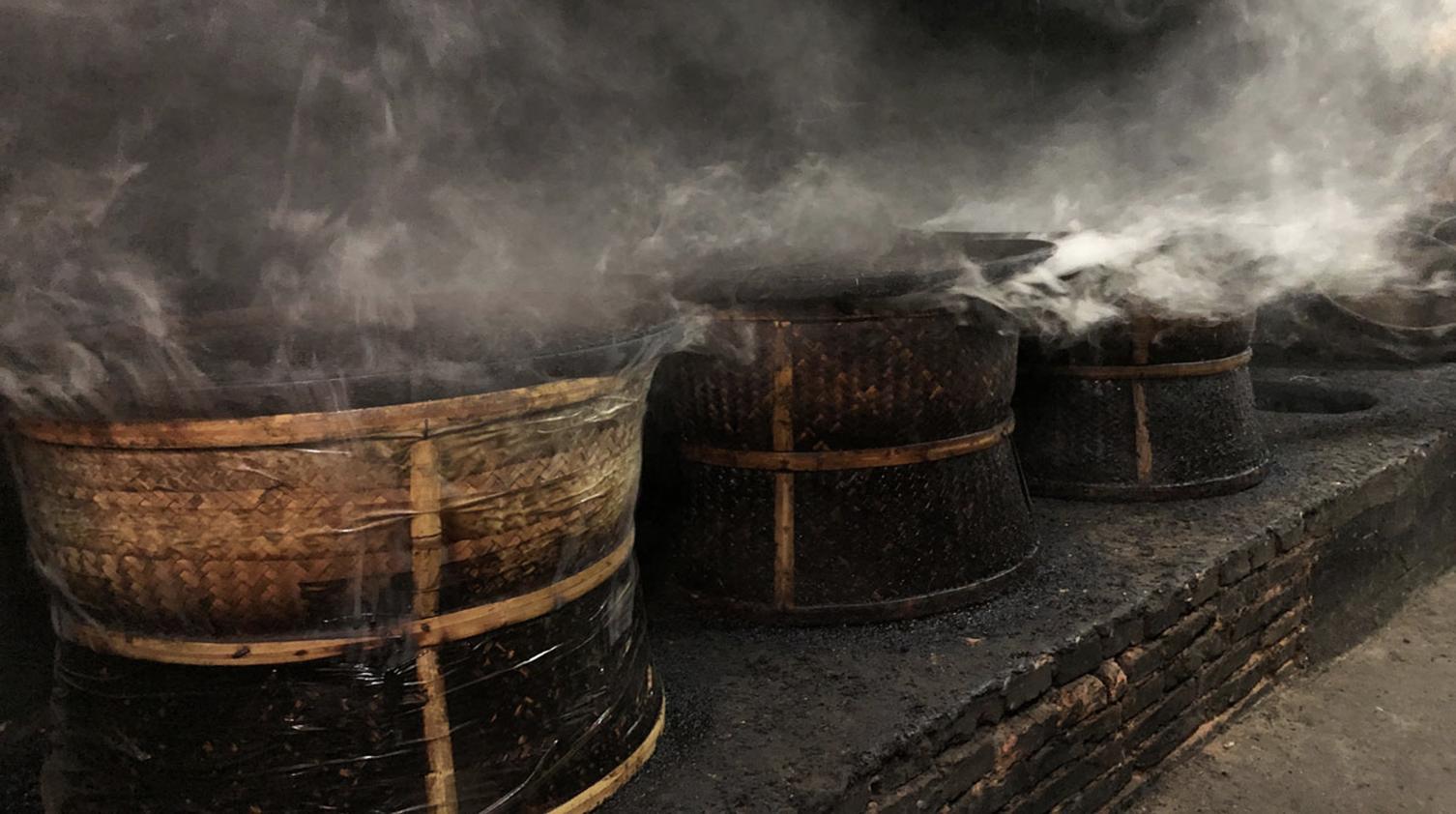 lapsang souchong production process for black tea